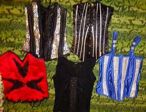 Womens size small Corsets (32-34)