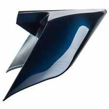 For 09-13 Harley Street Road Glide Big Blue Pearl Stretched Extended Side Cover