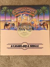 Georgio Mororder Casablanca 33 1/3 Rpm Single Vinyl Lp 1977 One Sided Record