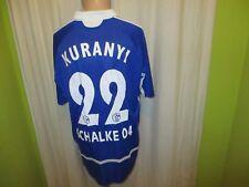"FC Schalke 04 Original Adidas Trikot 2006/07 ""GAZPROM"" + Nr.22 Kuranyi Gr.XL"