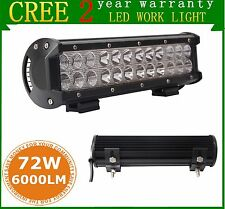 1PCS 12INCH 72W Led Work Light Bar UTE Offroad 4X4 ATV 4WD Truck Combo Lamp CREE