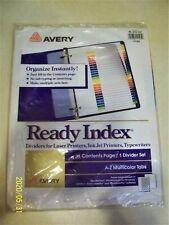 Avery Ready Multicolor Index R1 213 Az 1 Pkg 11125