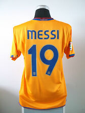 Lionel Messi #19 Barcelona Tercera Camiseta De Fútbol Jersey 2007/08 (L)