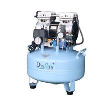 22L Dental Air Compressor Noiseless Oilless 115L/min 1-Driving-1 Stable DA5001