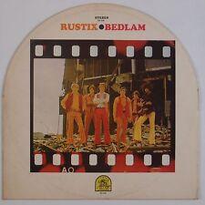 RUSTIX: Bedlam 70s Soul RARE EARTH Motown VINYL LP Rounder Cover Gimmick