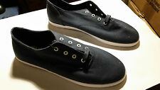 Supra Shoes Low Tops Navy Blue Shoelaces Included - WORN ONCE ONLY