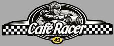 Dept 49  MAINE ET LOIRE - CAFE RACER  bretagne logo sticker