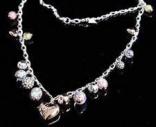 Guess UBN11124 Collar Mujer en Color: Plata /Cristal/Colorido Nuevo