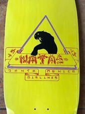 Reissue Natas Kaupas Rare Skateboard Deck Sma Santa Monica Airlines Skateboards