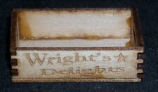 Dollhouse Miniature Wright's  Produce Crate 1:12 Farm Food Market Store Grocery