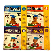 Lot of 4 YOUR BABY CAN READ! Books-Robert Titzer-Book 1,2,5 & Review Book