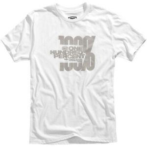 100% Hacktivist T-Shirt (White) XL
