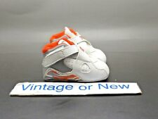 Nike Air Jordan VIII 8 Stealth Orange Blaze White Retro Crib Infant 2007 sz 1C