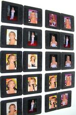 Britney Spears VINTAGE LOT OF COLOR 35MM SLIDE TRANSPARENCY PHOTO 24