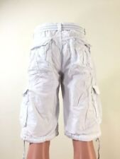 New Men's FOCUS 6 Pocket Cargo Shorts : 30 to 44 with *BELT*