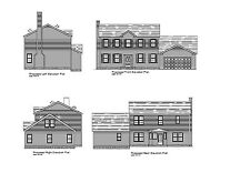 Colonial House Plan Basic Colonial Blueprint Plan #17-250528 2100 Sf 3br 2.5ba
