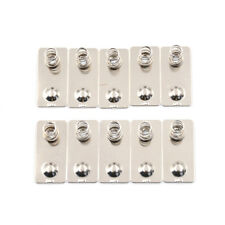 10PCS AA Battery Positive Negative Conversion Spring Contact Plate TC