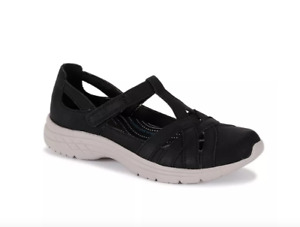 CROFT & BARROW Womens Silverbell Black SANDALS Shoes 7.5M (Fits like 8M) NWOB