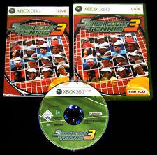 SMASH COURT TENNIS 3 XBOX 360 Versione Ufficiale Italiana 1ª Ediz ••••• COMPLETO