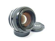 Nikon AI Nikkor 55mm F1.2 Fast Manual Focus Prime Lens. Stock No u9936