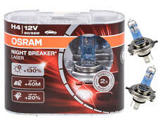 OSRAM NIGHT BREAKER LASER H4 12V 60/55W +130% P43t DUO-BOX 2 Stück Autolampen