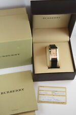Burberry BU1052 Heritage Collection Men's Watch with Leather Band - Swiss Made