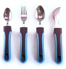 Adaptive Utensils - Weighted Silverware for Elderly, Handicapped & Parkinsons