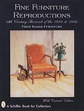 Fine Furniture Reproductions: 18th Century Revivals of the 1930s & 1940s from Ba
