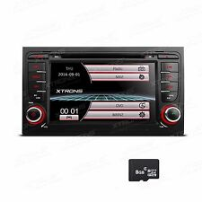 Auto Car DVD GPS Navigation Stereo Radio For 2002-2008 AUDI A4 B6 S4 B7 RS4 SEAT