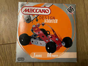 Meccano Design Starter Car- Brand New