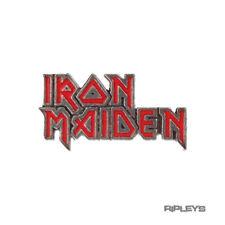 Official Alchemy Iron Maiden Pewter Pin Badge Eddie Metal Logo Gift