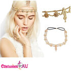 Bridal Vintage Headpiece 20s Flapper Chain Headband Gatsby Bohemia Boho Goddess