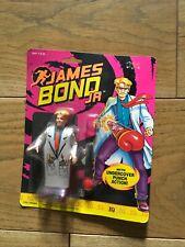 "New listing James Bond Jr action figure ""Iq"" Hasbro 1992 never opened"