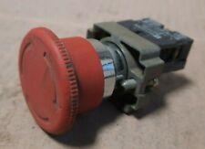 Telemecanique Zb2 Be102 Emergency Stop Push Button E129