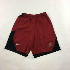 Men's Nike Baseball Arizona Diamondbacks Running Shorts Size L Large Red #978