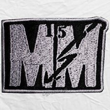Marilyn Manson MM15 Logo Embroidered Patch We're From America & the Spooky Kids