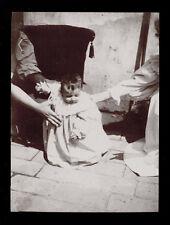 fotografia d'epoca albumina fine '800 BAMBINA-CHILD-KIND-ENFANT 2