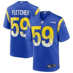 Los Angeles Rams London Fletcher #59 Nike Men's Official NFL Retired Game Jersey