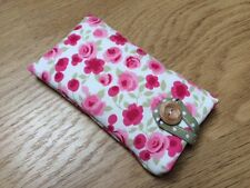 Clarke and Clarke Ditsy Rose Fabric - iPhone 6 / 6 Plus Padded Case Cover