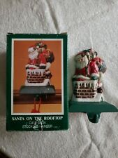 Midwest of Cannon Falls Santa On The Rooftop Cast Iron Stocking Hanger