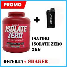 ISATORI ISOLATE ZERO 2KG PROTEINE ISOLATE SENZA GLUTINE ZERO CARBO + SHAKER