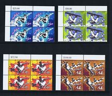 Australian Decimal Stamps 2006 Extreme Sports (4) Top Left Corner Blocks 4, MNH