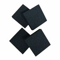 4 x Compatible Carbon Foam Filter Pads Suitable For Juwel Compact / BioFlow 3.0