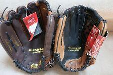 "Lot of (2) Rawlings NWT LHT Playmaker Series Baseball Gloves 12"" & 13"""