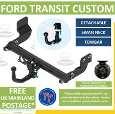 Detachable Towbar for Ford Transit Custom Van & Tourneo 2012 on Inc M-Sport TT
