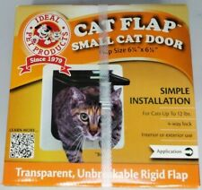 "Ideal Pet Products Cat Flap Small Cat Door Flap Size 6 1/4"" x 6 1/4"" Brand New"
