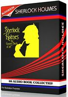 Sherlock Holmes.Audio Book Collection  Inc 80 Books Almost 60 Hours MP3 Download