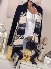 Lange Grobe Damen-Pullover & Strickware mit Wolle ohne Verschluss