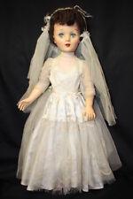 "Vintage 1953 Eegee Susan Stroller Doll 29"" Tall, Head Turning Walker Type"