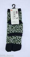 足袋ソックス TABI SOCKS - Chaussettes japonaises - Kumo (vert) 38/42 - Import Japon